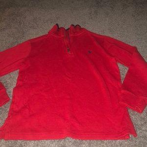 Medium 10/12 boys Ralph Lauren quarter zip